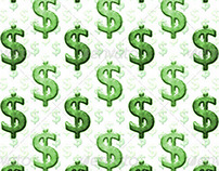 Dollar Sign Background Pattern