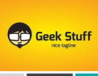 Geek Stuff Logo Template