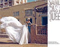 "Velvet magazine ""Sandcastle Queen"""