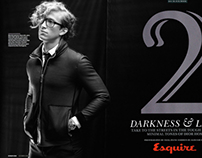 "Esquire magazine ""Darkness & Light"""