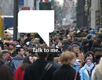 """Nokia """"Talk to me."""""""