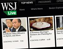 WSJ LIVE Video Center