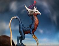 Creating a Fantasy Creature from Concept Art in ZBrush