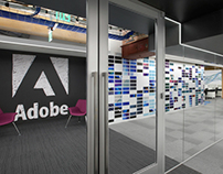 Adobe Workplace -San Francisco Environmental Branding