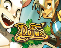 Landing Page for Dofus Online