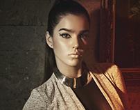 Alessa Brava / Goldline Magazine  A/B 2013