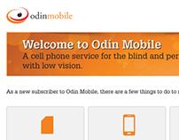 Odin Mobile Customer Welcome Letter