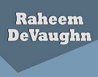 Raheem Devaughn Kickstarter Proposal