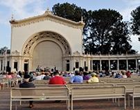 145th Street Jazz Band at Balboa Park