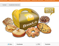 BreadLife Bakery - Website