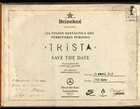 Trista's fashion show invitations