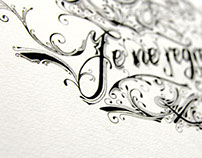 Calligraphy and Illustration