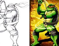 Ninja Turtle / Tortuga Ninja (Miguelangel)