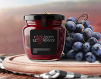 Logo and Package design for Rádbízom grapejam
