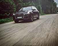 The all new Audi Q7 SLine