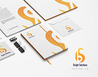 Bright Solutions Logo and Visiting Card