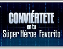 "GRÁFICA APP - Proyecto para ""Avengers"" de Marvel"