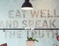 Nosh Restaurant Branding