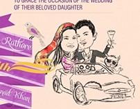 Rabo & Moe   Wedding Cards