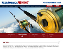 Keep America Fishing / Layout & Design
