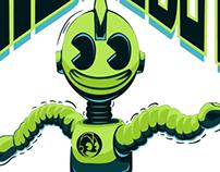 Kid Robot Dubstep Poppin