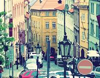 Ilustrações Vetoriais - Praga