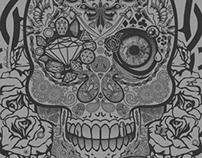 Print for TABASKO: Skull