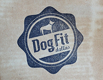Dog Fit Dallas Identity