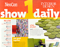NeoCon 2013 Show Daily covers