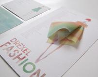 Drexel Fashion Show Invitation 2010
