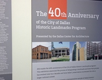 Dallas Landmarks Exhibition
