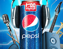 PEPSI MUSIC CAN