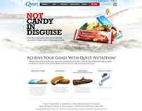 Quest Nutrition Web 2.0 Mock