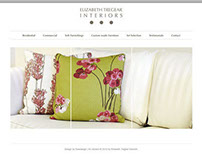Web Design & Development  - Elizabeth Tregear Interiors