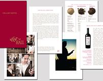 Winery Cellar Notes Brochure