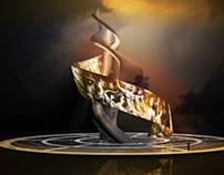 Dream Lighting - Yang Guifei Sculpture Concept