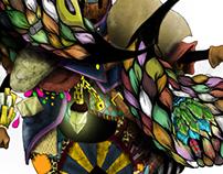 Deus color est - character concept