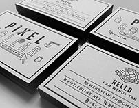 Pixel Collar - Namecard