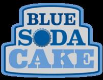 Blue Soda Cake