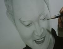 Grace Boyfriend Portrait Drawing