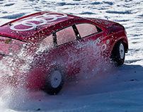 Audi quattro® RC snow show Bansko