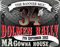 34th Dolmen Rally Poster 2013