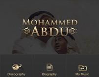 Iphone/BB app - Mohammed Abdo