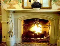 Custom Fireplace Screens at Wilshire Fireplace Shop
