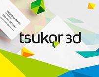 Tsukor 3D Branding Identity