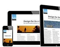 Design for Good | Responsive WordPress Theme