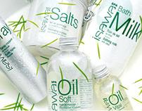 3 gammes de cosmétiques capillaire