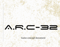 Game Concept Document : A.R.C-32 (RTS)
