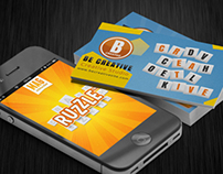 Ruzzle Business Card