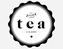 drink tea & be merry